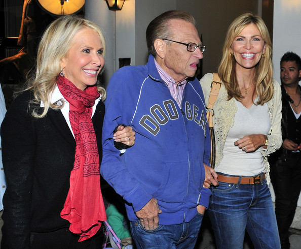 Larry King on Rodeo Drive in Beverly Hills