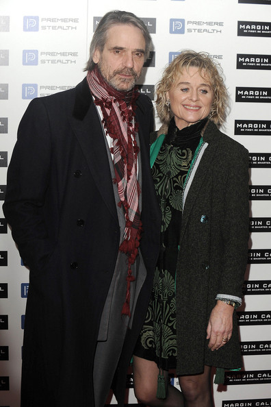 Jeremy Irons with cool, beautiful, Wife Sinéad Cusack