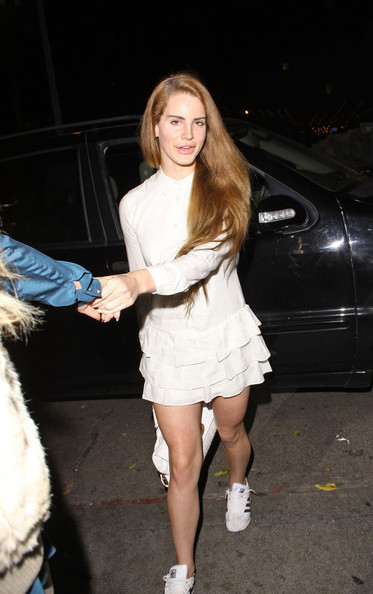 Lana Del Rey In Lana Del Rey Leaves Chateau Marmont In