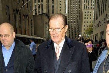 """Sir Roger Moore Sir Roger Moore on the """"Today"""" Show"""