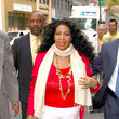 Pictures: Aretha Franklin Wears a Boot on Fractured Toe at 'Today ...