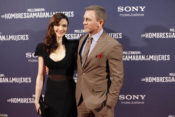 Daniel Craig Rachel Weisz 'The Girl With The Dragon Tatoo' Madrid Premiere