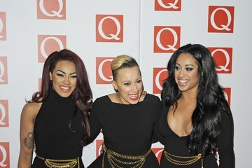 Stooshe Alexandra Buggs The Maccabees on the red carpet for the Q Awards at the Grosvenor