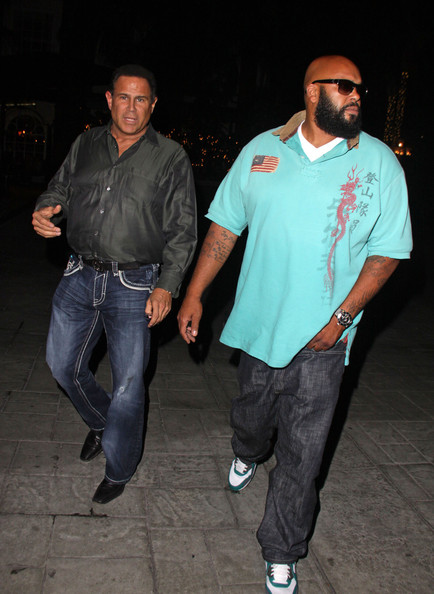 Keith Middlebrook and Suge Knight at the Four Seasons