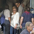 Danneel Harris Jensen Ackles and Wife Shopping in Rome