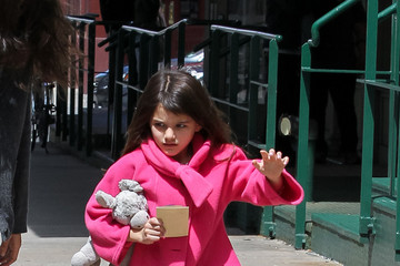 Suri Cruise Suri Cruise Gets Pampered