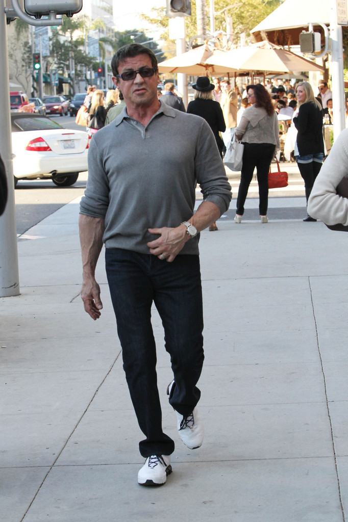 Sylvester Stallone Out in Beverly Hills 7 of 13 - Zimbio