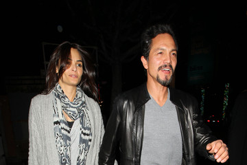 Talisa Soto Benjamin Bratt amd Talisa Soto at The Montalban Theater