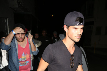 Taylor Lautner Kristen Stewart and Taylor Lautner Hang Out in LA