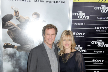 """Will Ferrell Viveca Paulin Premiere of """"The Other Guys"""" at New York's Zeigfeld Theatre"""