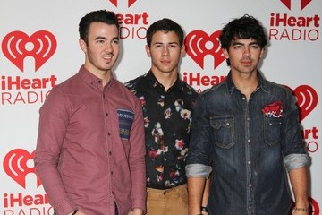 The Jonas Brothers Celebs at the iHeartRadio Music Festival
