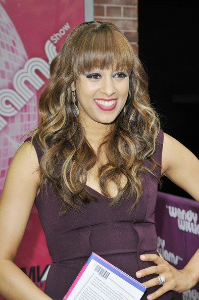 tia mowry and cree stop by wendy williams in this photo tia mowry ...