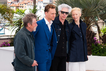 Tilda Swinton Jim Jarmusch 'Only Lovers Left Alive' Photo Call in Cannes