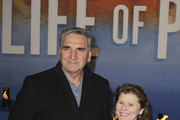 Jim Carter and Imelda Staunton attend the premiere of 'Life Of Pi' held at the Empire Cinema, Leicester Square in London, England.