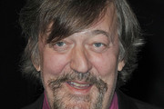 Stephen Fry attends the premiere of 'Life Of Pi' held at the Empire Cinema, Leicester Square in London, England.