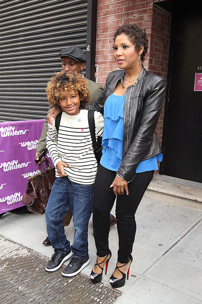 Toni Braxton and Her Son Leave 'Wendy Williams' ...