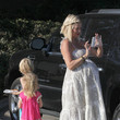 Stella Doreen McDermott Tori Spelling and Family at the Malibu Fair 3