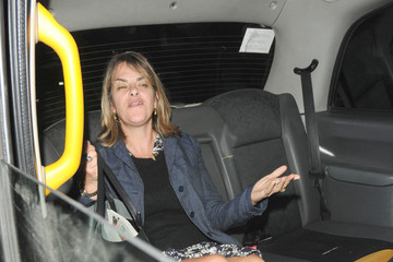 Tracey Emin Celebs Out Late in London