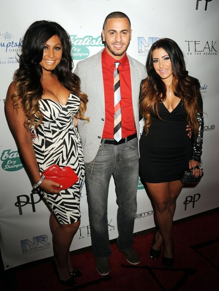 Laurena Fox and Tracy DiMarco seen attending the 'Glam Fairy' Season 2 Premiere Party held at the Teak On The Hudson, New Jersey