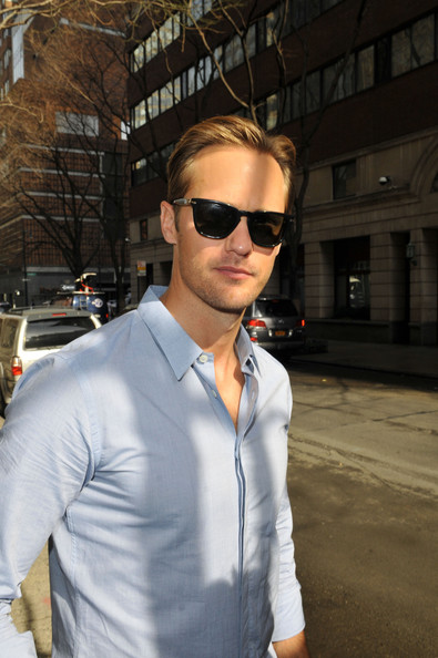 True Blood' star Alexander Skarsgard out and about in New York City