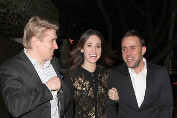 Tyler Jacob Moore Emmy Rossum Out With Friends in LA