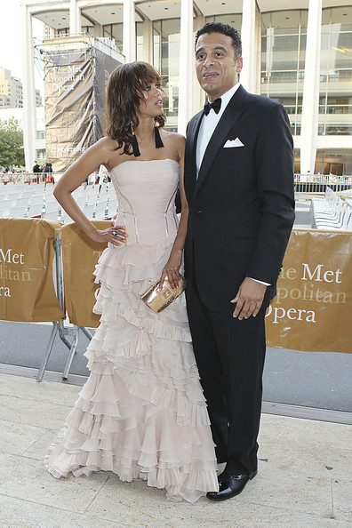 Tyra Banks and John Utendahl - Tyra Banks at the Metropolitan Opera