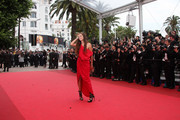 "Maiwenn Le Besco on the red carpet for the screening of ""Les Biens-Aimes"" at the closing ceremony of 64th Cannes Film Festival."