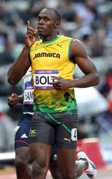Usain Bolt of Jamaica wins the gold medal in the 100m ...