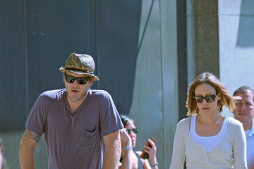 Fynn Hawkey Vera Farmiga Out and About in NYC