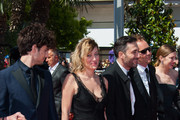 Louis Garrel, Valeria Bruni Tedeschi and director Filippo Tim attend the Premiere of 'Un Chateau En Italie' during the 66th Annual Cannes Film Festival at the Palais des Festivals in Cannes.