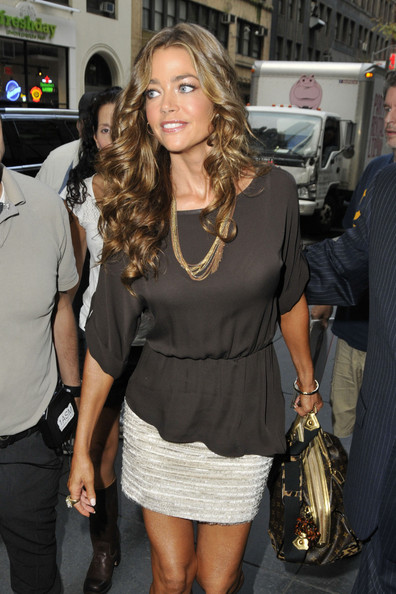 Denise Richards in Denise Richards at 'The Today Show ...
