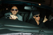 """N-Dubz"" star Dappy arrives at Movida nightclub in London to celebrate the launch of his solo single ""No Regrets""."