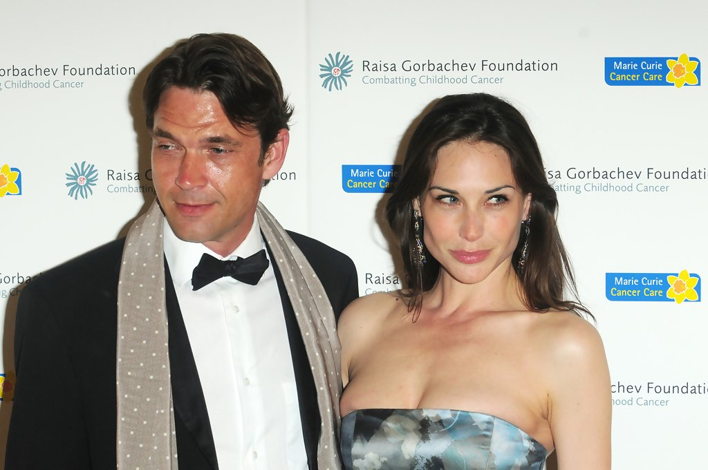 Claire Forlani and her husband Dougray Scott