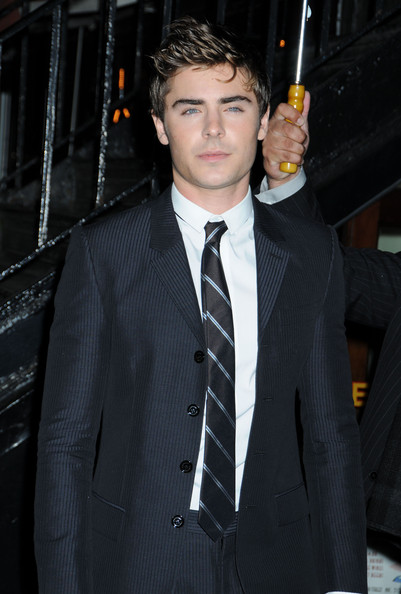 Zac Efron Zac Efron arrives for the New York screening of