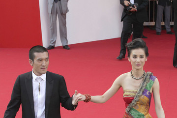 Zi Yang Red Carpet Premiere of 'The Ides of March'
