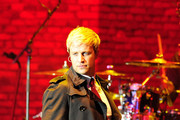 Nicky Byrne of Westlife sings in concert at the 2011 Hampton Court Palance Festival in London.