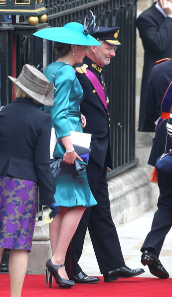 Guests after the Royal Wedding of Prince William and Kate Middleton held at Westminster Abbey. Kate & Wills announced their engagement in November last year after William proposed during a holiday in Kenya. The Royal couple will be known after the wedding as the Duke and Duchess of Cambridge.