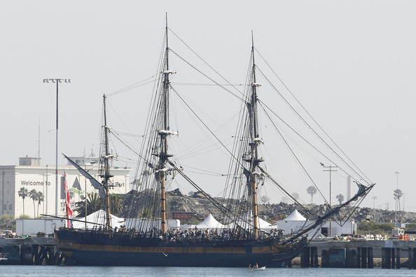 """A Ship From """"Pirates of the Caribbean 4: On Stranger Tides"""" at the Port of LA"""