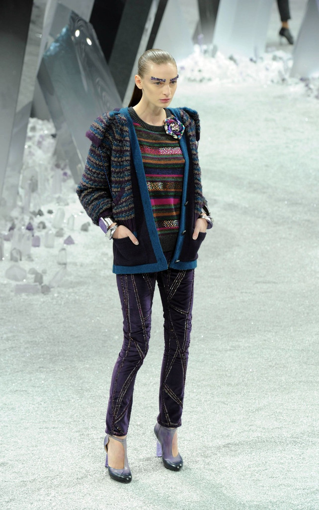 The Chanel Fall-Winter 2012-2013 Show in Paris