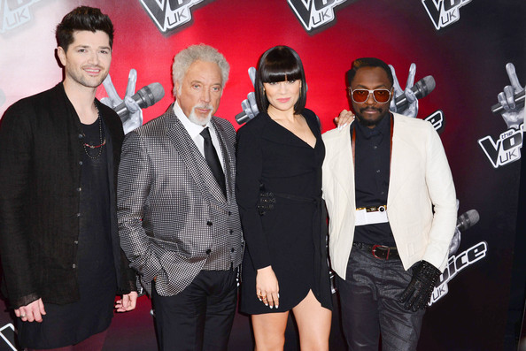 Celebs Celebrate 'The Voice UK' Launch