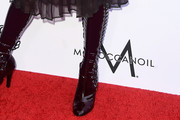 Frances Bean Cobain Lace Up Boots