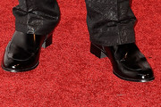 Jencarlos Canela Leather Slip On Shoes