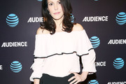Mary-Louise Parker Off-the-Shoulder Top