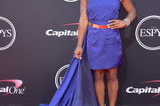 Simone Biles One Shoulder Dress