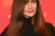 Carol Alt Long Straight Cut with Bangs
