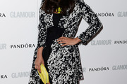 Jameela Jamil Evening Coat