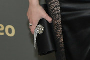 Ariel Winter Satin Clutch