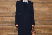 Julia Louis-Dreyfus Wool Coat