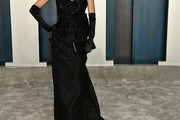 Nicole Richie Strapless Dress