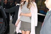 Hannah Jeter Fur Coat